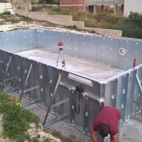 Foto da cantieri in corso - piscine