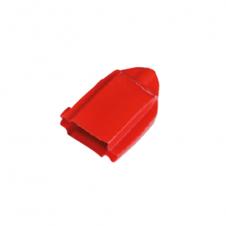 Cuffia rossa per tenditore a rocchetto