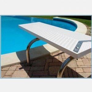 Trampolino per piscine modello Rana