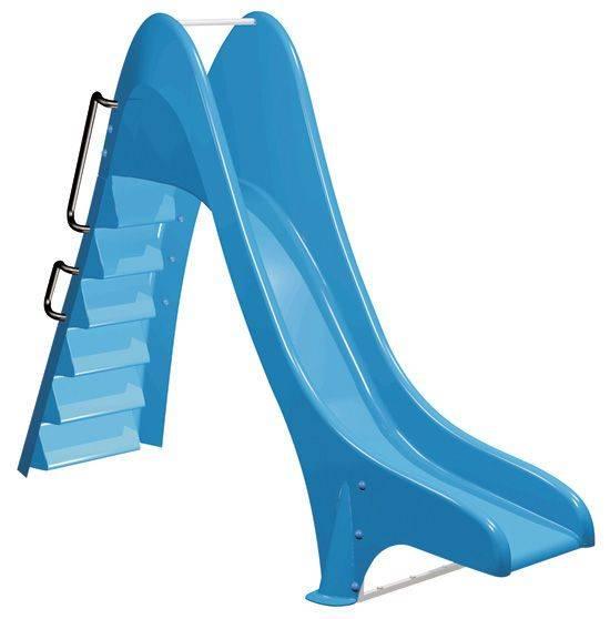Scivolo per piscine bambini toboga wave con gradini for Scivolo per bambini usato