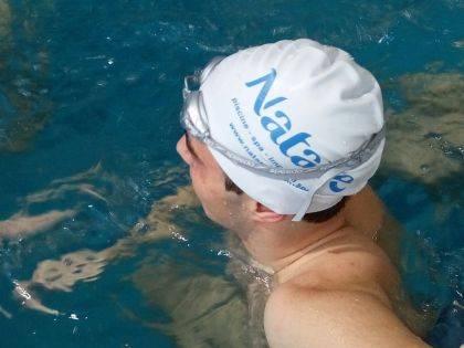 Cuffie in silicone per piscina