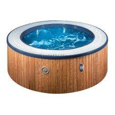 Vasca Hot tub & Spa - 5 comode sedute con due chaise-longue