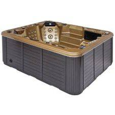 Vasche Hot tub & Spa - 5 comode sedute con due chaise-longue