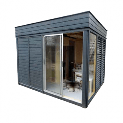 Sauna da esterno Garden Cube 6 posti