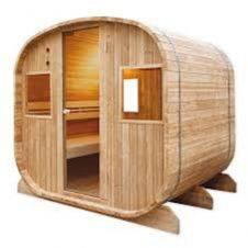 Sauna tradizionale al vapore per esterni - by Holl's