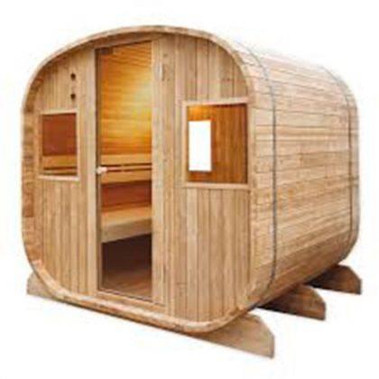 Sauna finlandese Barrel 6 posti