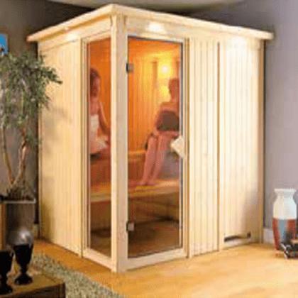 Sauna finlandese Senia 2 posti