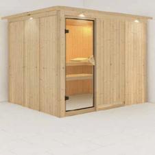 Sauna finlandese Greta 3 posti
