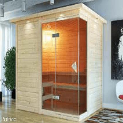 Sauna finlandese Patrizia 2 posti