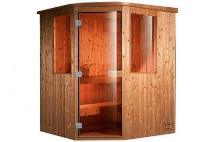 Sauna finlandese 3 posti BL-110 - 4,5 kW
