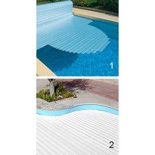 Copertura per piscina a tapparella