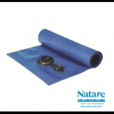 TUBOLARE PERIMETRALE in PVC - Zavorra per coperture invernali per piscine - BLU
