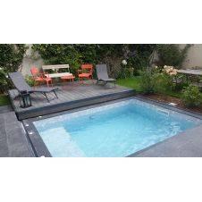 Terrazza mobile per piscina