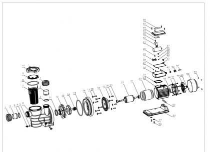RCB - Ricambi per pompa di circolazione Powertech SMP