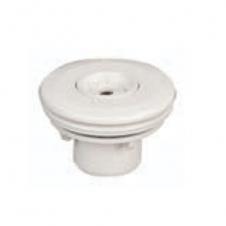 Bocchetta di mandata MULTIFLOW filettata in ABS bianco