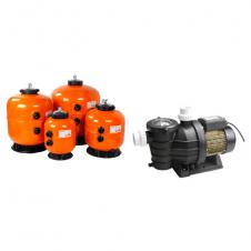 Selezione accessori di filtrazione per piscine sino 180 m³ d'acqua