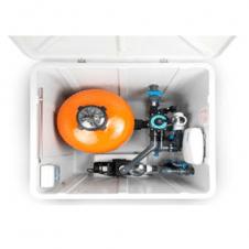 Equipaggiato con un filtro con relativa pompa, quadro elettrico e collettori di mandata/aspirazioni.