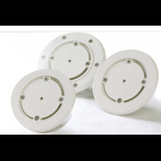 Bocchette a pavimento in ABS bianco di immissione/mandata