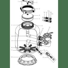 Ricambi per filtro CLEAN d. 500 e d. 650 mm