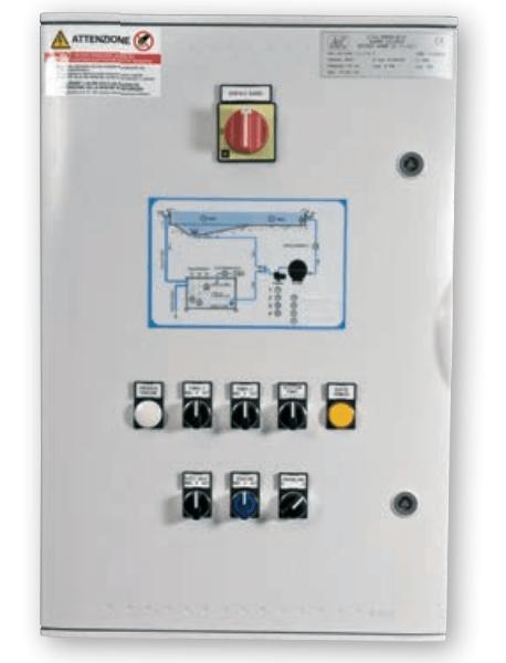 Schema Quadro Elettrico Per Illuminazione Pubblica : Quadro elettrico per piscina pubblica a bordo sfioratore
