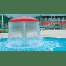 Fontana per piscina modello Fungo
