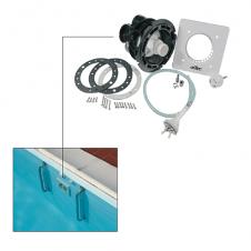 Sistema gruppo nuoto contro corrente per piscine
