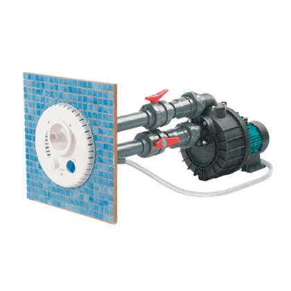 Kit tubazioni di collegamento per Nuoto Contro Corrente per piscine