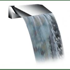 Fontana in acciaio inox per piscine modello Niagara