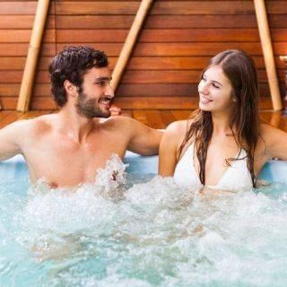 Vasche idromassaggio, hot tub & spa e mini piscine con nuoto contro corrente