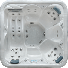 vasca idromassaggio per 6 persone