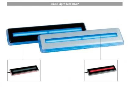 Faro a led Blade Light - luce multicolore RGB