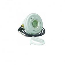 Faro MINI completo in ABS bianco - luce bianca o RGB