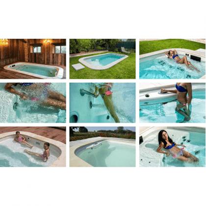 Mini piscina idromassaggio blue vision for Blue piscine hannut