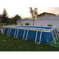 Kit completo per piscina fuori terra altezza 125 cm