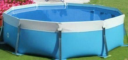 Kit piscina fuori terra maretto modello round water 125 - Impianto filtrazione piscina prezzo ...