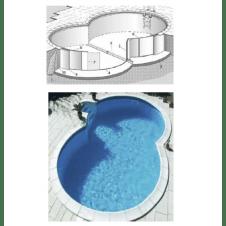 Kit piscina - Piscine interrate rondò