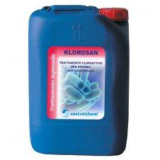 Klorosan per la prevenzione della legionella