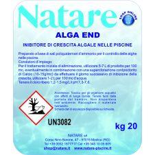Prodotto liquido ad azione flocculante Algaend