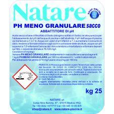 Abbattitore di pH granulare a sacco - Natare pH Meno