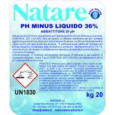 Correttore riduttore pH - (meno) liquido per manutenzione delle piscine