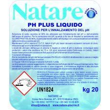 Prodotto alcalino per aumentare il pH della vostra piscina; Tanica da 20 kg.