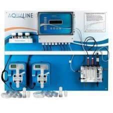 Sistema di controllo e regolazione multiparametrico a microprocessore per piscine