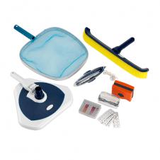 Kit pulizia: Trousse analisi e manutenzione acque piscina
