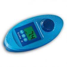 Tester elettronico impermeabile per la misura di cloro libero e totale, pH, stabilizzante e alcalinità per piscina
