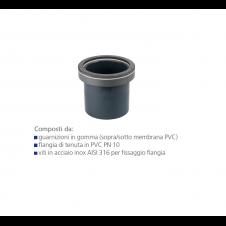 Per vasca di compenso con corpo in PVC PN 10