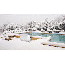 Pompa di calore per riscaldamento piscina fino a 85 mc