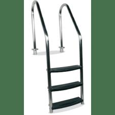 Scaletta in acciaio per piscina modello Airone