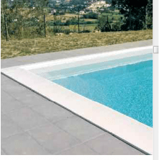 Bordo per piscina interrata e a skimmer