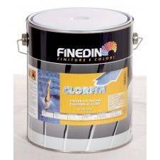Clorfin - Pittura al clorocaucciù specifica per piscine