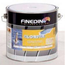 Pittura colorata al clorocaucciù per piscine Clorfin kg 16